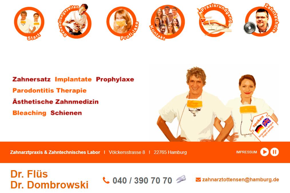 Zahnarzt Dr. Flüs Hamburg